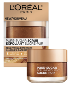 L'Oreal Canada Free Lip Face Sugar Scrub Sample - Glossense