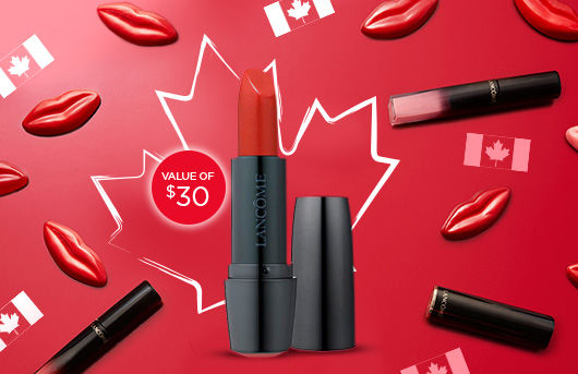 Lancome Canada Day Free Lipstick Offer 2018 - Glossense