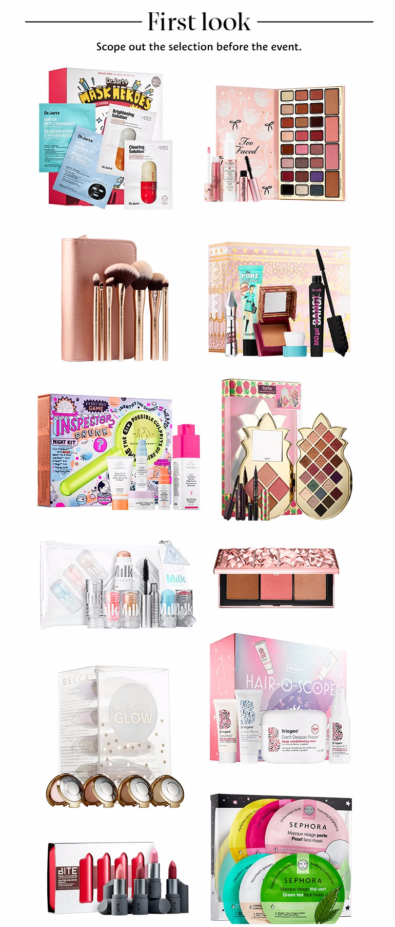 SEPHORA <b>CANADA 2018</b> HOLIDAY ITEMS &amp; <b>GIFT</b> SETS: First Look ...