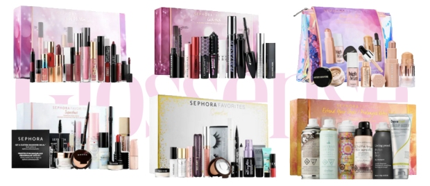 Sephora Canada New Canadian Favorites Favourites Sets Give Me More Lip, Lashstash, Glow For It, Superstars & Extend Your Style Dry Shampoo Collections - Glossense