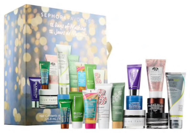Sephora Canada Favorites Favourites Set - 12 Days Of Masking | 2018 Canadian Beauty Holiday Christmas Advent Calendar - Glossense