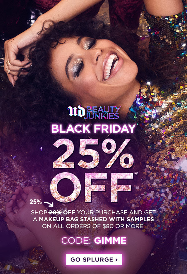 Urban Decay Canada 2018 Canadian Black Friday Sale Deal 2019 - Glossense