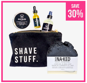Well.ca Welldotca Canada 2018 Canadian Black Friday Daily Deal Save on Buck Naked Soap Company Products - Glossense