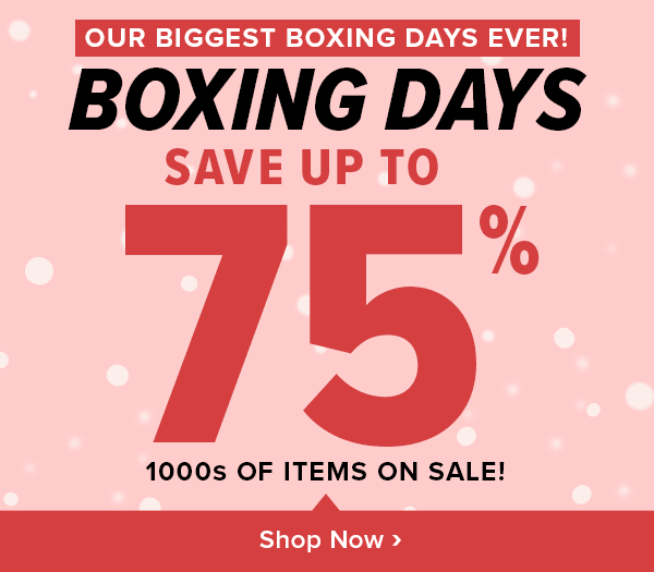 Well.ca Welldotca Well dot ca Canada 2018 Canadian Boxing Day Boxing Week Sale Deals Doorcrashers Offers Promos - Glossense