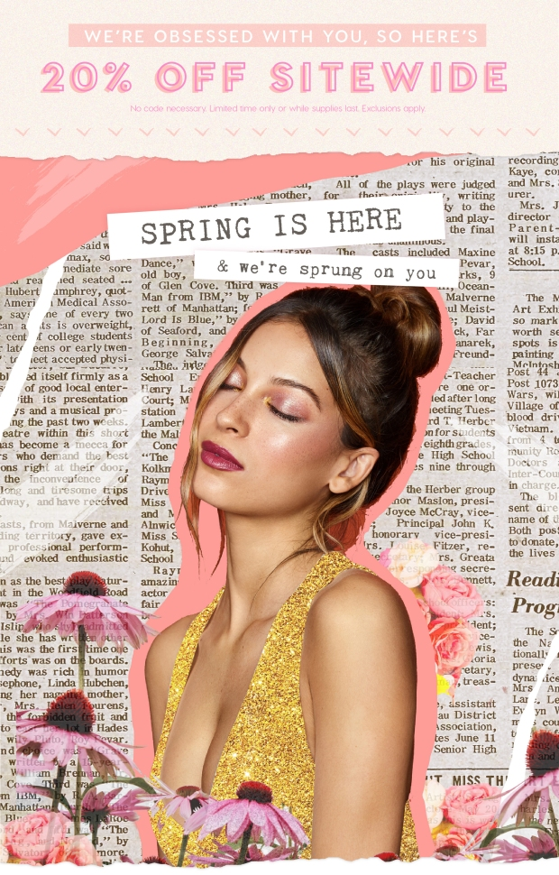 ColourPop Cosmetics Canada Spring has Spring Canadian Spring 2019 Deals Sale Discount Savings - Glossense