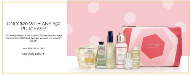 LOccitane Canada Beauty Canadian Coupon Codes 2019 Promo Code Be Mine Gift Set Valentines