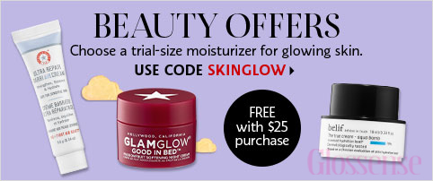 Sephora Canada Canadian Beauty Offers Promo Code Coupon Codes SKINGLOW Glowing Skin Care SkinCare Free Mini Deluxe Samples FAB First Aid Beauty GlamGlow Belif - Glossense
