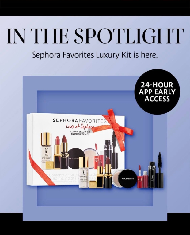 Sephora Canada Canadian Mobile App Exclusive Early Access Sephora Luxe Favorites Favourites Set 2019 - Glossense