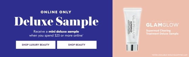 Shoppers Drug Mart SDM Beauty Boutique Canada 2019 Canadian Freebies Deals GWP Free Glamglow SuperMud Clearing Treatment Mini Deluxe Sample - Glossense