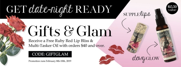 Barefoot Venus Canada 2019 Canadian Valentine's Day Promotion Special Offer Free GWP Gift with Purchase Promo Code Coupon Code Free Ruby Red Set - Glossense