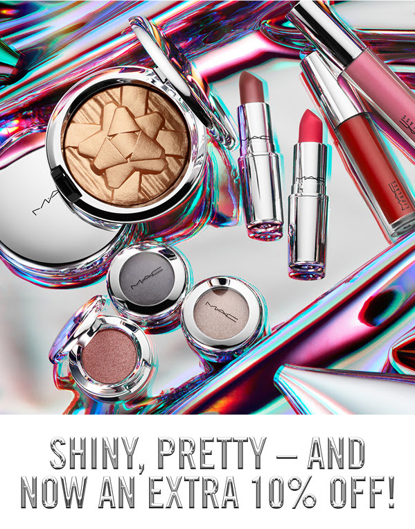 MAC Cosmetics Canada Canadian Promo Code Coupon Code Canadian Beauty Deals Save on Shiny Pretty Things Holiday Collection Sale Discount 2019 - Glossense