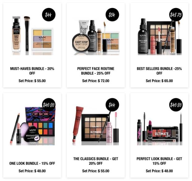 Nyx Cosmetics Canada 2019 Canadian Lunar New Year Sale Bundles Chinese New Year - Glossense
