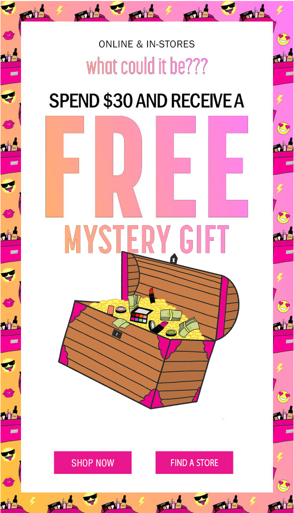 Nyx Cosmetics Canada Free Canadian GWP Gift with Purchase Mystery Gift Free Makeup Bag Pouch - Glossense
