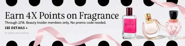 Sephora Canada February 8 14 2019 Canadian 4x Fragrance Points Event Beauty Insider Perfume Cologne Candles Skincare - Glossense