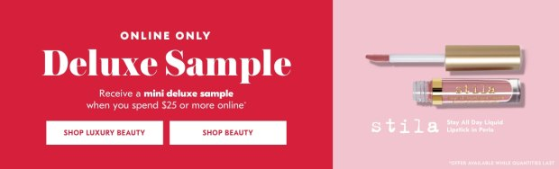 Shoppers Drug Mart SDM Beauty Boutique Canada 2019 Canadian Freebies Deals GWP Free Stila Cosmetics All Day Liquid Lipstick Mini Deluxe Sample - Glossense