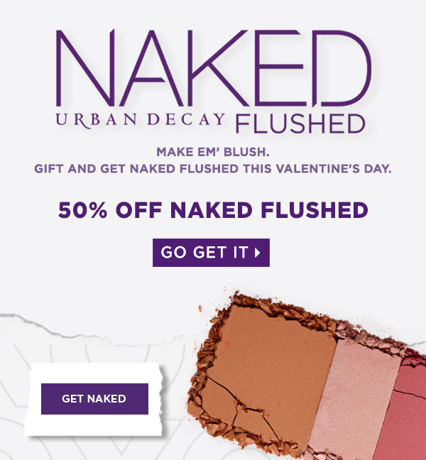 Urban Decay Cosmetics Canada Naked Flushed Palettes Canadian Sale Canadian Deals 2019 Valentine's Day Bronzer Blush Highlight - Glossense