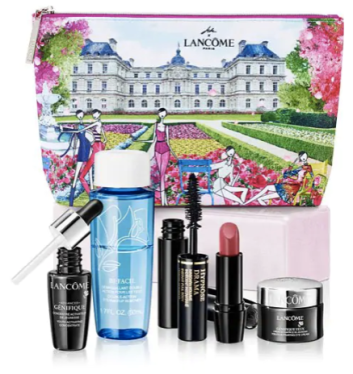 Hudson's Bay Beauty The Bay HBC Canadian GWP Gift with Purchase Offer Free Lancome March 2019 Signature Beauty Gift Bag Travel Set Bag Deluxe Sample Canadian Freebies - Glossense