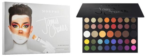 Sephora Canada New Morphe James Charles Eyeshadow Eye Shadow Palette Now Available Arrived Launches Today March 21 2019 New Sephora Arrival Arrivals Makeup - Glossense